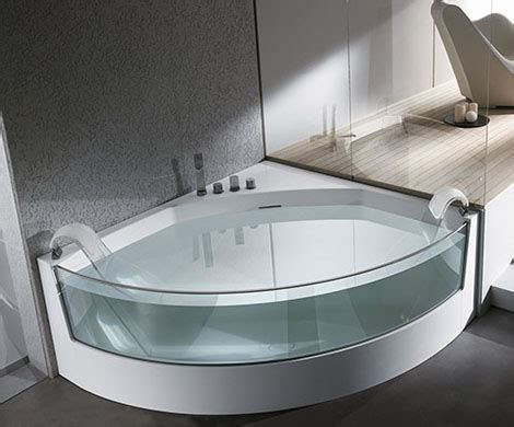 clear sided bathtub from teuco gorgeous view whirlpool