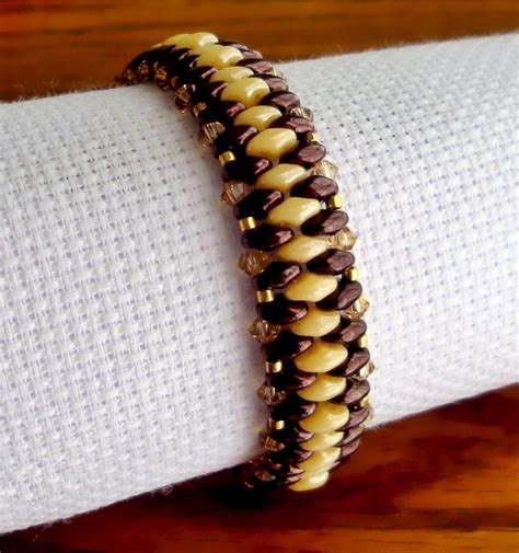 free patterns using superduo beads free pattern for bracelet just with superduo beads magic