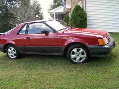 car repair manual download 1988 ford exp interior lighting purchase used 1988 ford exp electric car in rogersville tennessee united states for us 5 000 00