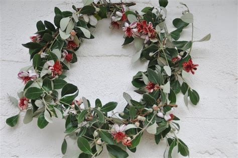 rummage the feijoa christmas wreath