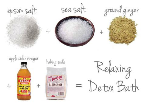 Detox Bath Ingredients by 1000 Images About Diy Spa Day On Dead Skin