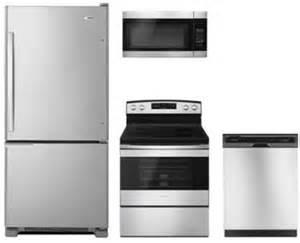 amana kitchen appliances amana ama4pcfsbfss30efckit1 kitchen appliance packages