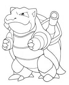 mega blastoise colouring pages