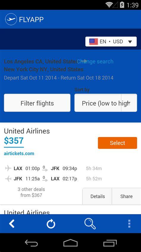 best flight search flyapp best flight search engine appstore