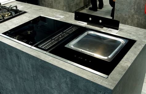 Design Ideas For Gas Cooktop With Downdraft The Next Big Trend In Kitchen Design Downdraft Ventilation Reviewed Ovens