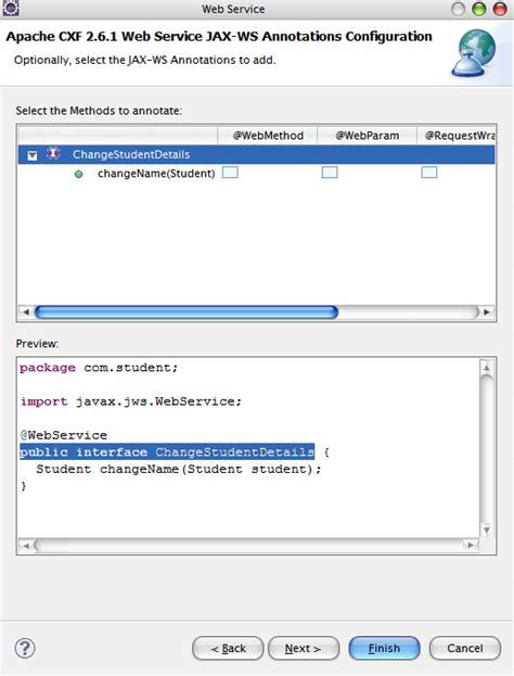 html design using eclipse create jax ws web service using eclipse