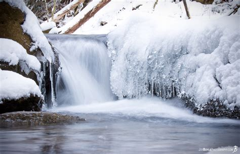 buy quot waterfall with ice snow quot photo print options