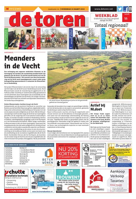 De Toren Week 50 2015 By Weekblad De Toren Issuu by De Toren Week 11 2015 By Weekblad De Toren Issuu