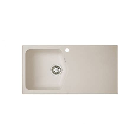 Beige Kitchen Sink Astracast Dart 1 0 Bowl Rok Granite Kitchen Sink Beige In Granite Finish