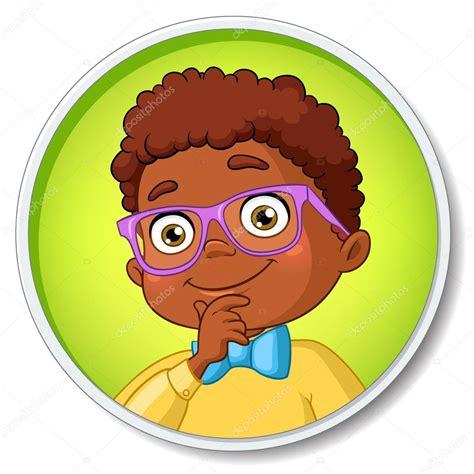 imagenes niños pensando animadas ni 241 o pensativo joven estudiante afroamericana inteligente
