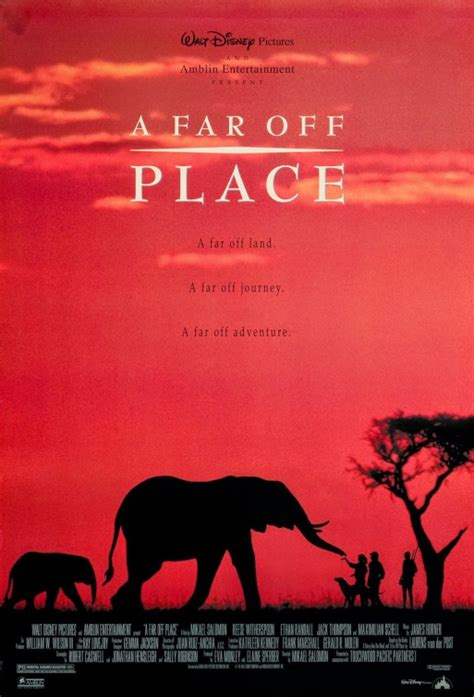 A Place Poster A Far Place Poster Imp Awards