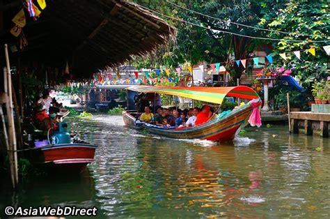 khlong lat mayom floating market bangkok magazine