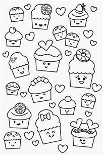 kawaii coloring book free kawaii with faces coloring pages