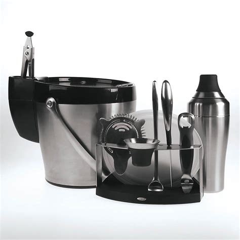 barware set oxo 1061655 11 pc barware set