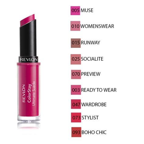 Revlon Colorstay Ultimate Suede Lipstick revlon colorstay ultimate suede stick levres
