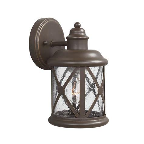 Sea Gull Lighting Lancaster 2 Light Antique Bronze Outdoor Antique Bronze Light Fixtures