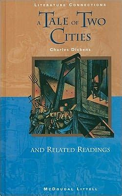 libro mcdougal littell literature connections mcdougal littell literature connections a tale of two cities student editon grade 10 1996 by