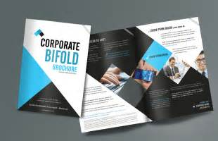 corporate brochures templates corporate bifold brochure design templates freedownload
