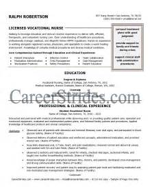 Lvn Resumes by Resume Sle Exle Written By A Professional Certified Resume Writer