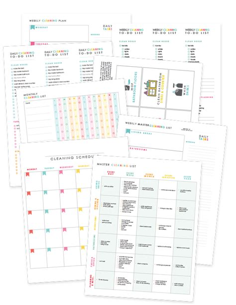 Make A House Plan How To Create A Cleaning Schedule That Works For You