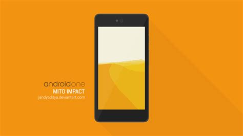 Mito Impact Android One Psd Flat Design Mockup By Jandyaditya On Deviantart Android Flat Design Template