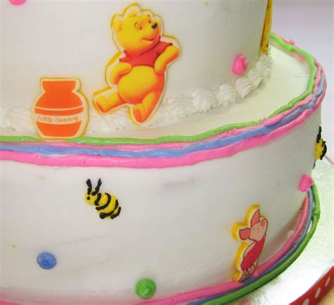 Pooh Baby Shower Cakes by Winnie The Pooh Themed Baby Shower Cake Cakecentral
