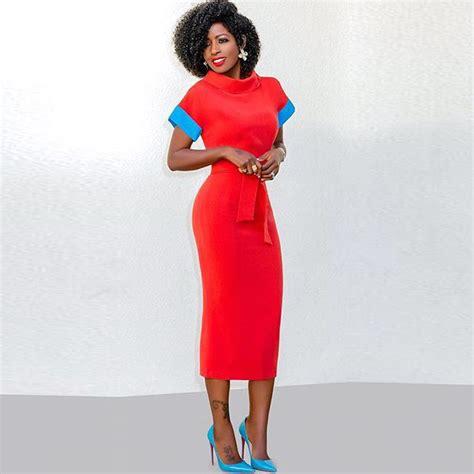 color block midi dress cowl neck color block midi dress addicted2fashion