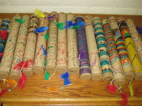How To Make A Rainstick With A Paper Towel Roll - teachkidsart chilean sticks