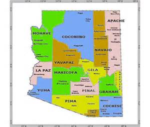 arizona state major maps community agencies arizona department of economic