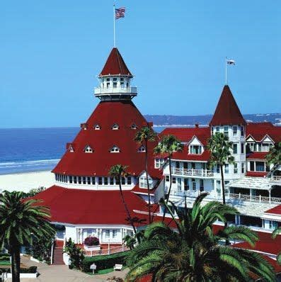 the hotel del coronado which opened in 1888 and completed