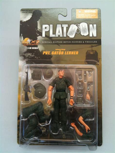 Platoon Edition Figure johnny depp as pvt gator lerner dash figures