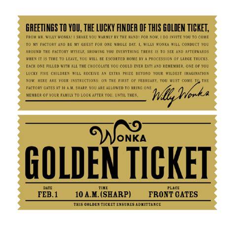 golden ticket mala tvornica ideja