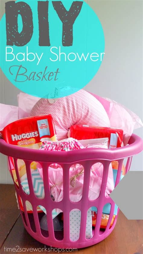 Baby Shower Diy Decorations by Diy Baby Shower Gift Basket On A Shoestring Kasey Trenum