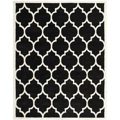 black and white geometric pattern rug 1000 images about rugs on pinterest wool rugs black
