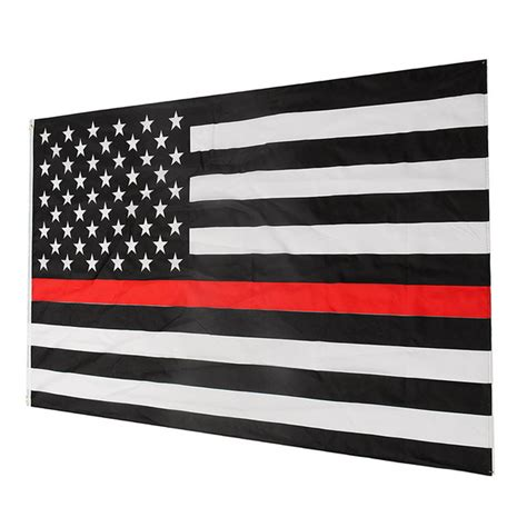 Shopping Online Home Decor thin red line stripe american flag respect and honor