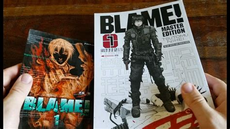 blame master edition 1 en portada comics blame master edition book 1 review by classic game room youtube