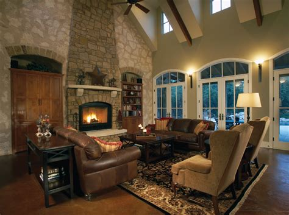 mediterranean house plan great room photo  danton luxury