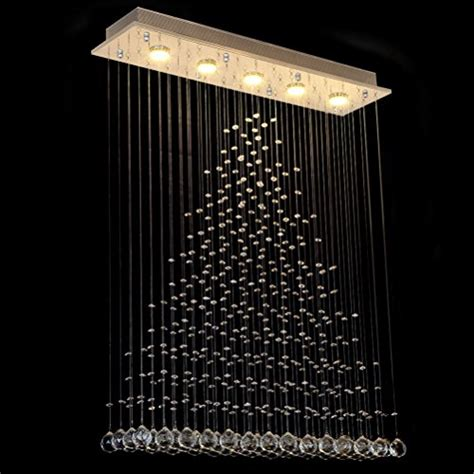 light fixture with drop ceiling in the dining room ella fashion 174 contemporary flush mount modern crystal rain