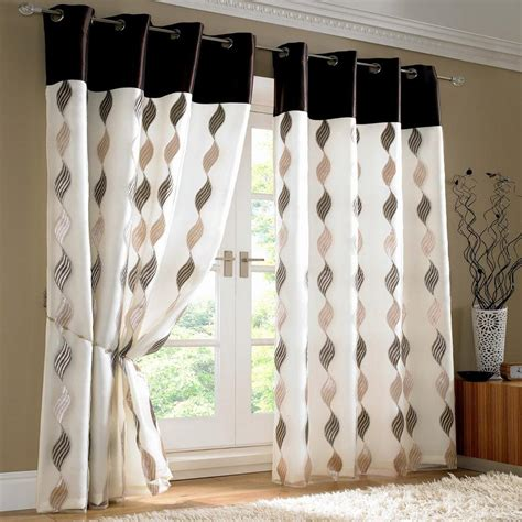 home decorating ideas curtains choosing curtain designs think of these 4 aspects