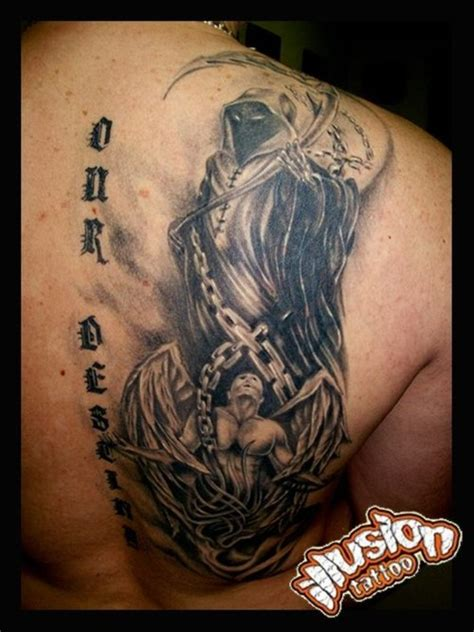 angel of death tattoos and by lukasz konsek picture at