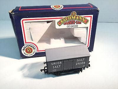 Union Uk 180 bachmann 33 180 oo covered salt wagon union hshire models hshire models