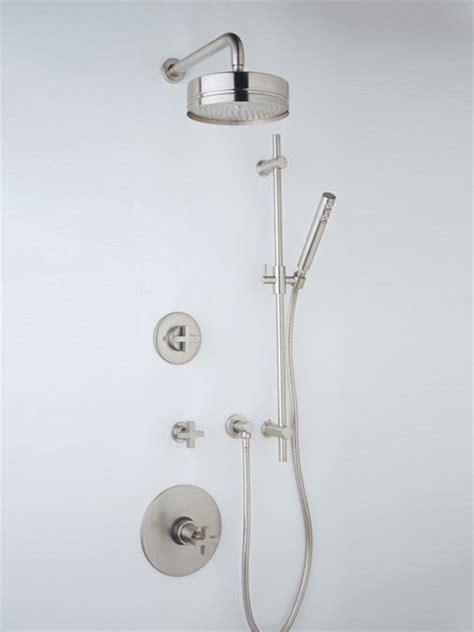 Rohl Modern Bathroom Faucets Rohl Modern Minimalist Thermostatic Shower Trim Modern