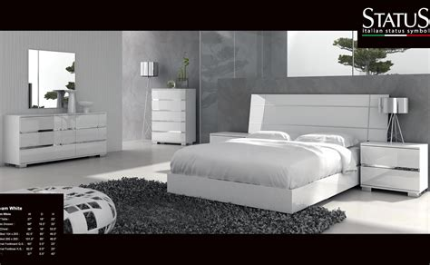 contemporary king size bedroom set dream king size modern design bedroom set white 5 pc bed