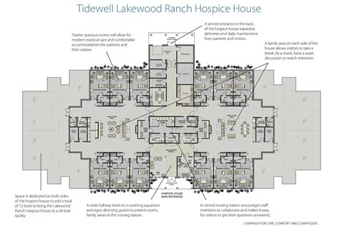 Floor Plans Ranch tidewell hospice house lakewood ranch campaign for care