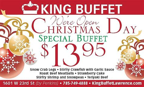 king buffet clip coupons from lawrence journal world