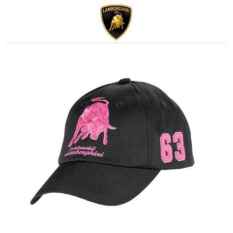 Porsche Basecap by Lamborghini Basecap Bull 63 Schwarz Pink Online Kaufen