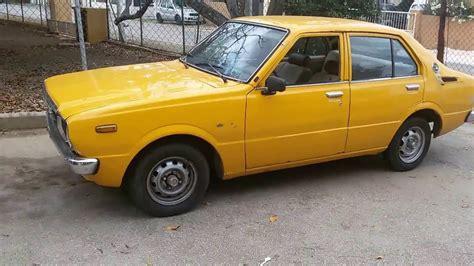 toyota ae88 toyota corolla deluxe 1979