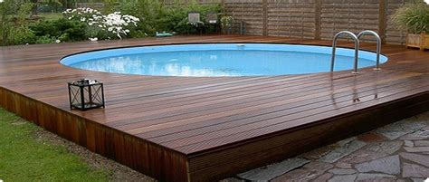 wood pool deck square above ground pools www pixshark images