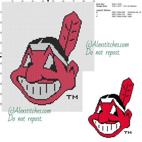 reliable pattern works cleveland oh cleveland indians free logo major league baseball mlb