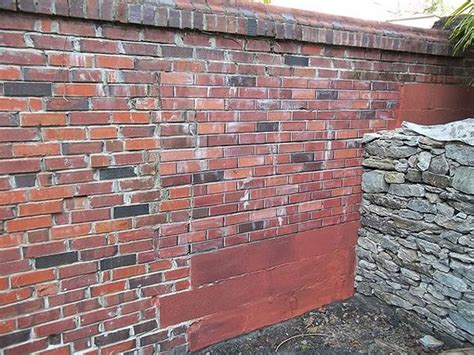 painting exterior concrete foundation walls cinder blocks to look and painting concrete on